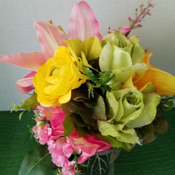 Handmade Other - Lily , Ranunculus and Rose Bouquet